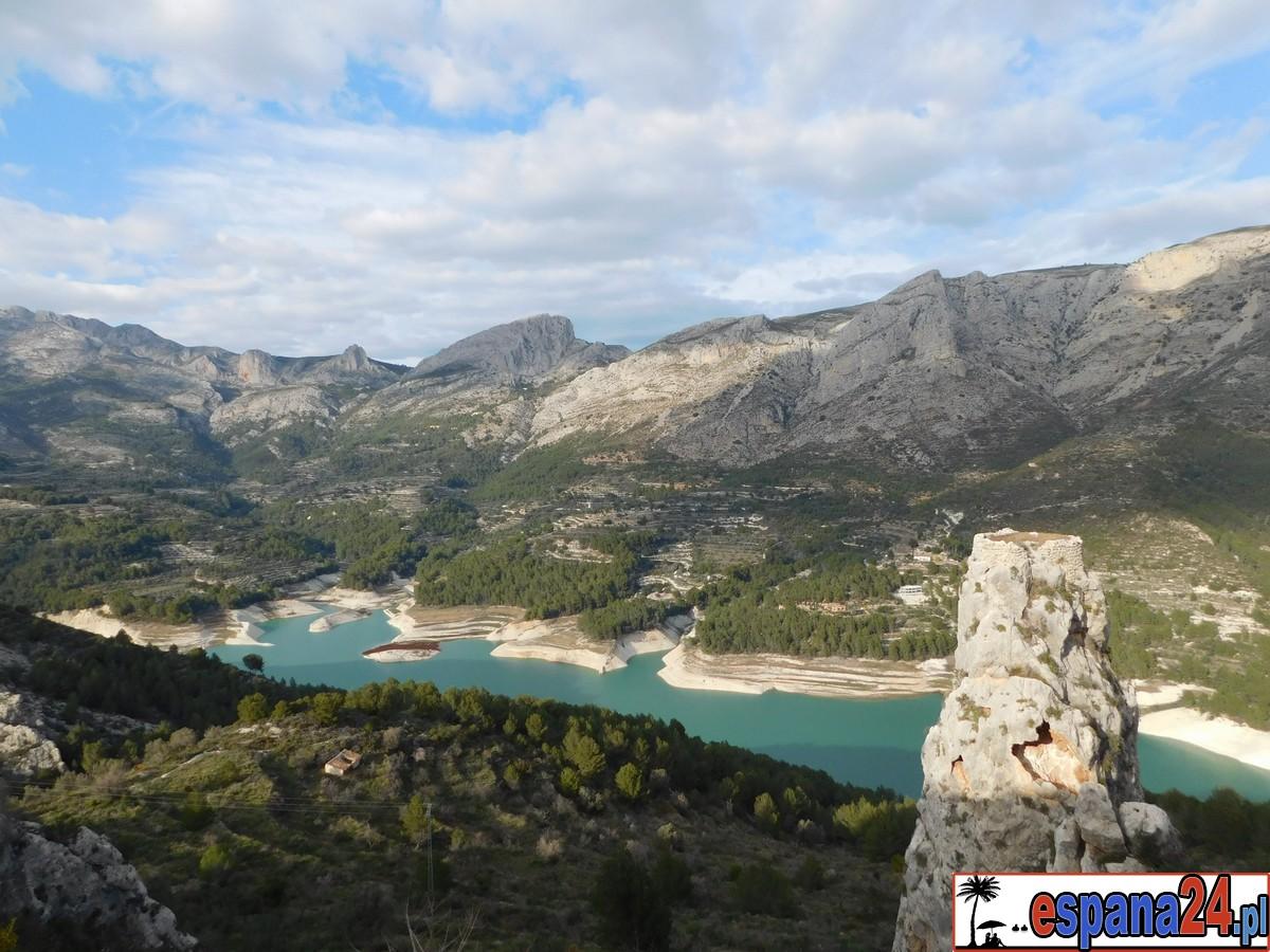 hiszpania, el castell de guadalest