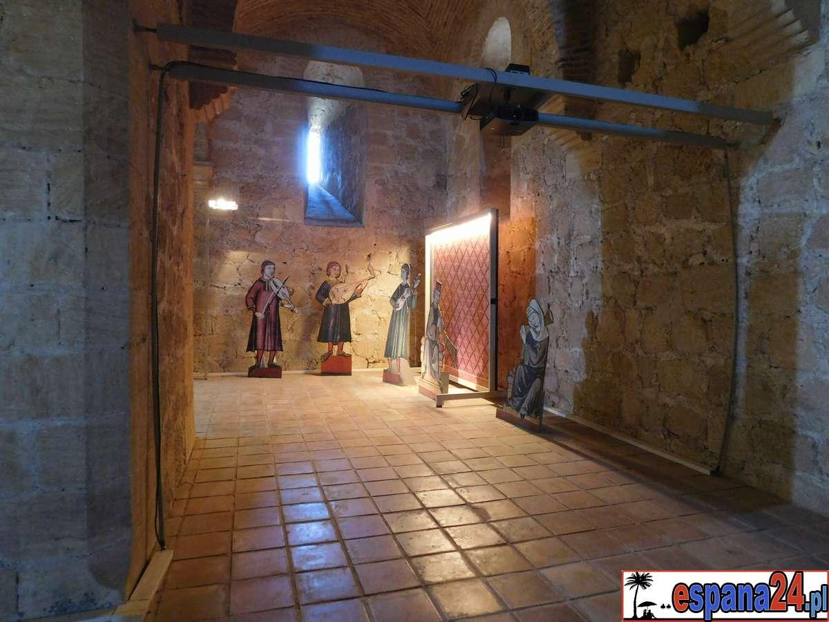 zamek, lorca, wewnątrz, lochy, eksponaty, muzealne